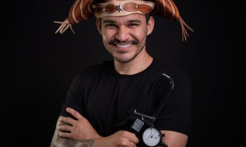 Joaquim Cintra é cearense graduado em Educação Física e lidera a primeira pesquisa com modelos matemáticos para estimar adiposidade em adolescentes