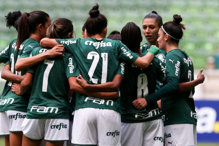 Partida entre Palmeiras e Real Brasília, válida pela sétima rodada do Campeonato Brasileiro Feminino, no Allianz Parque, em São Paulo-SP. (Foto: Fabio Menotti) (Foto: Fabio Menotti / Ag. Palmeiras)