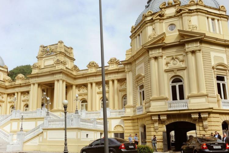 Palácio Guanabara, Sede do Governo do Estado do Rio de Janeiro (Foto: Tomaz Silva/Agência Brasil)