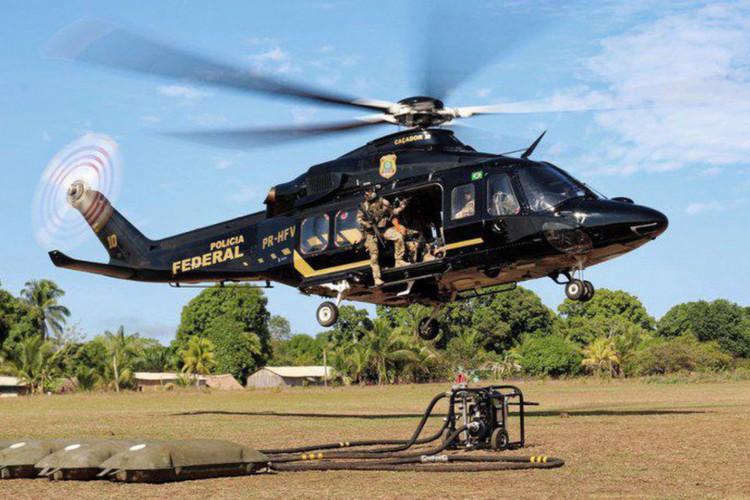 Operação da PF investiga garimpos clandestinos em terras indígenas (Foto: )