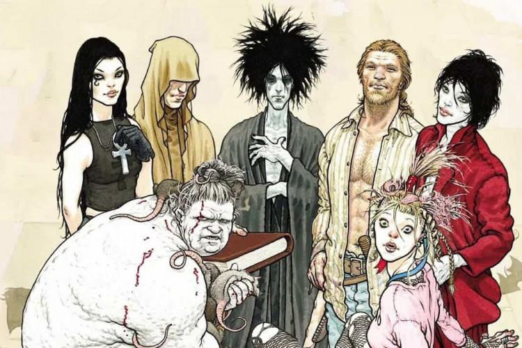 A série de quadrinhos 'Sandman' foi originalmente publicada em 1988, e já teve muitas reedições e spin-offs (Foto: Divulgação)