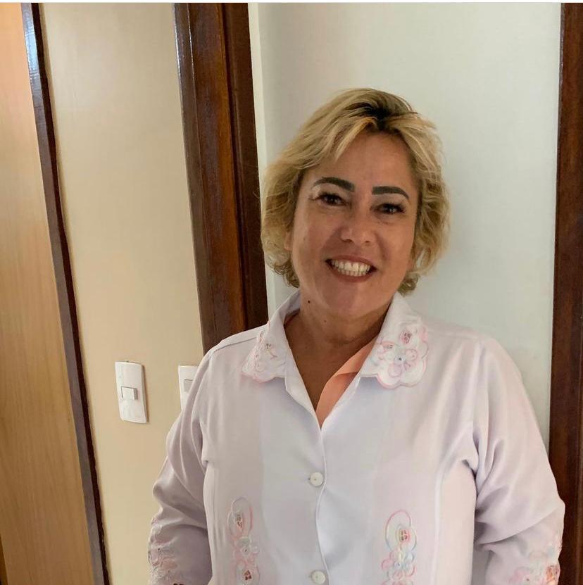 A médica Dione Mota Rola, integrante do Coletivo Rebento e pediatra há mais de 20 anos