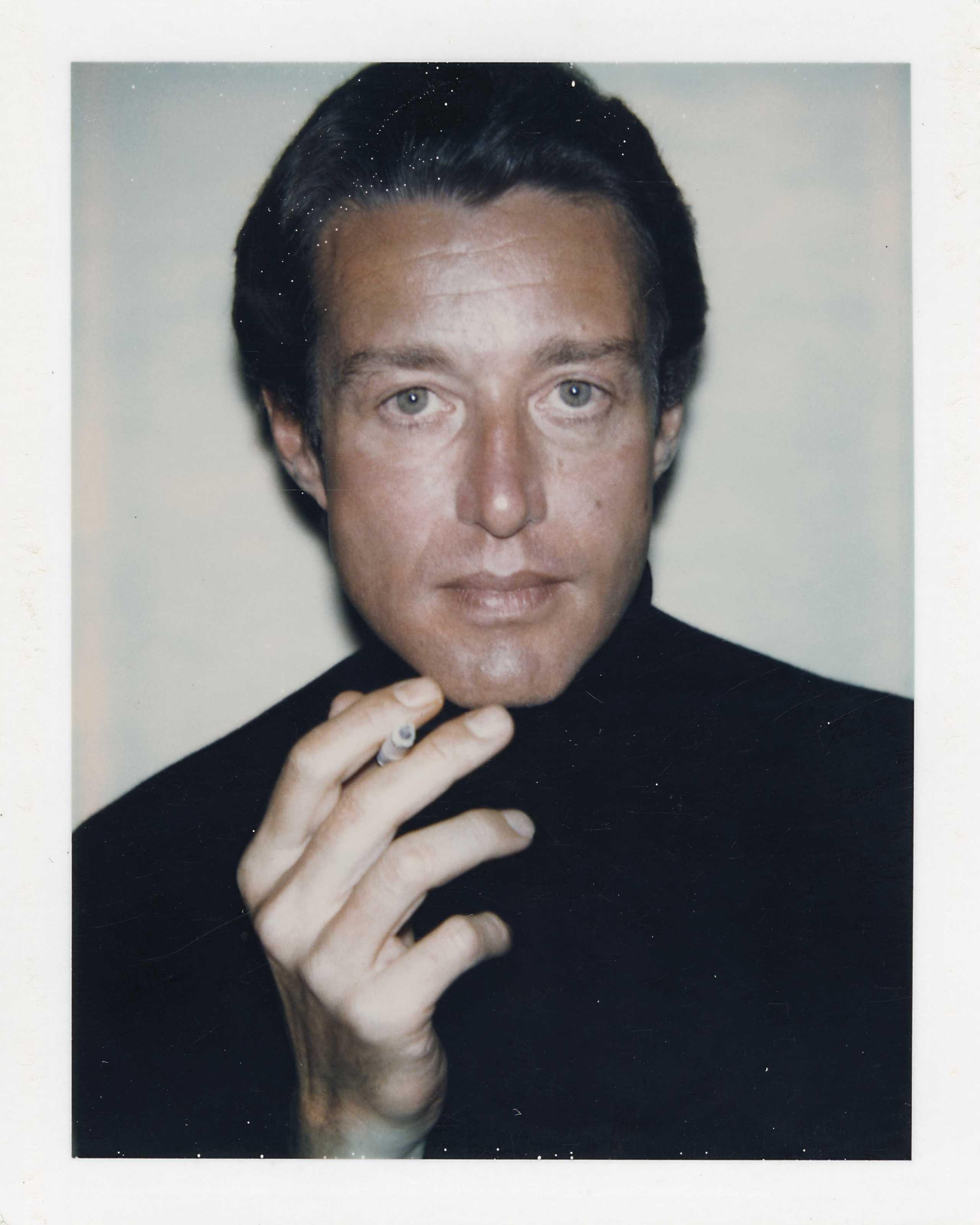 Halston (1932-1990) por Andy Warhol (1928-1987) (Foto: fotos Reprodução)