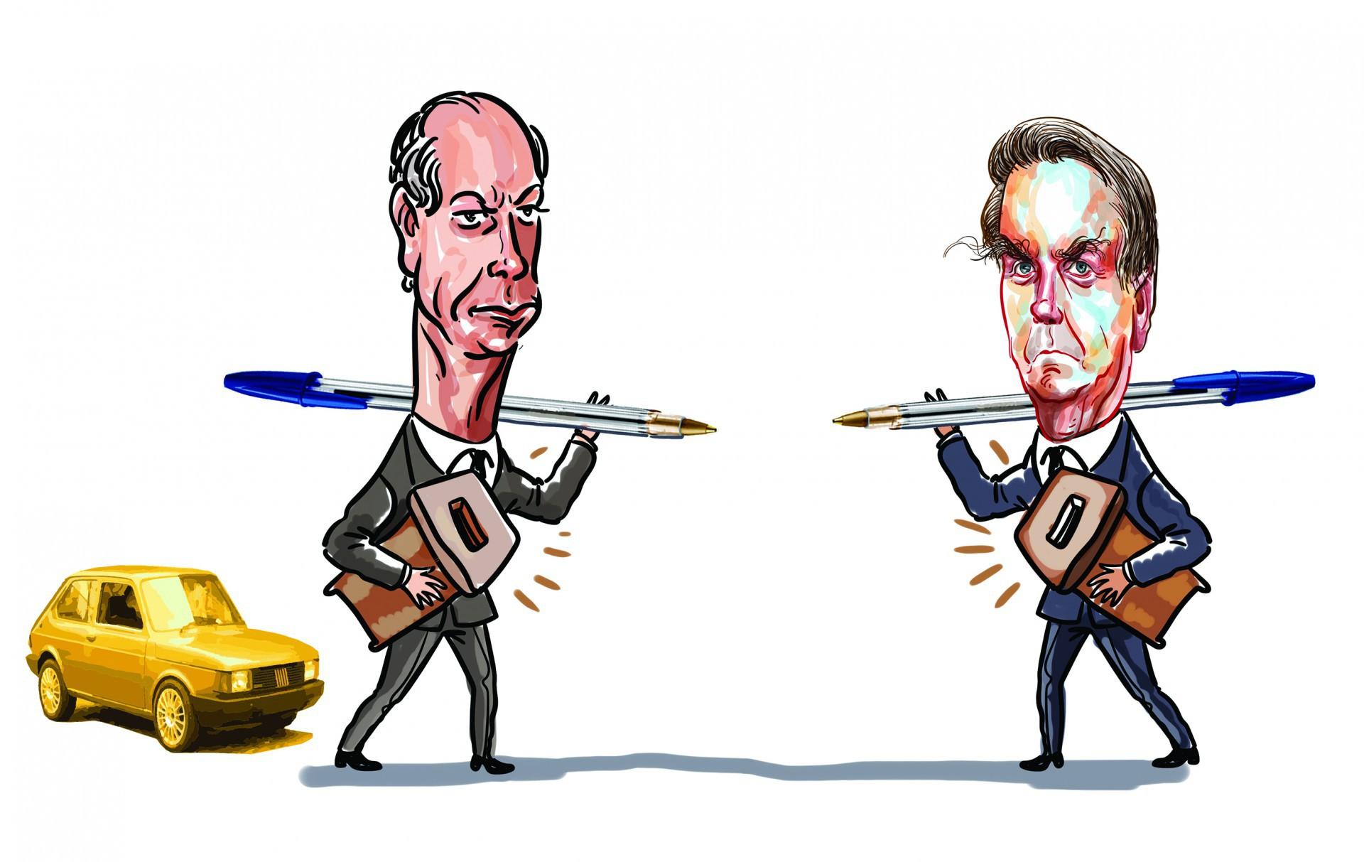Ciro, Bolsonaro e a pauta que os aproxima