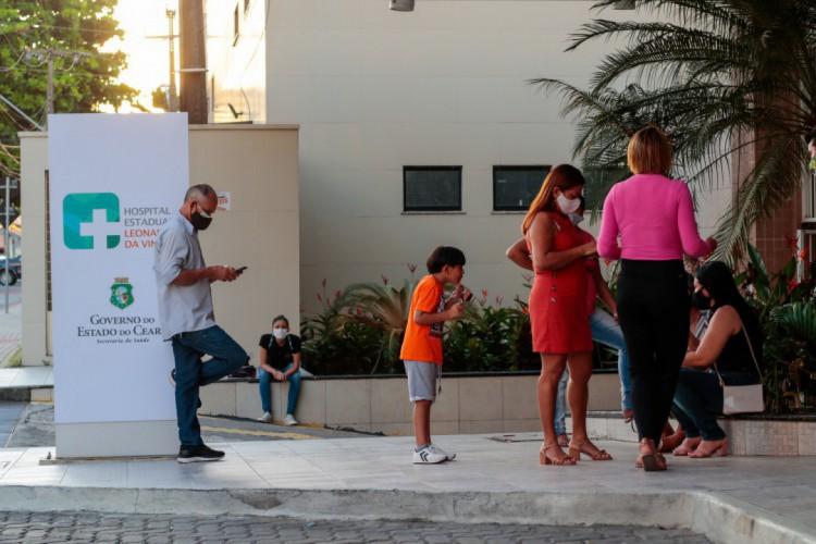 Monitoramento considera hospitais públicos e particulares. (Foto: BARBARA MOIRA/ O POVO)