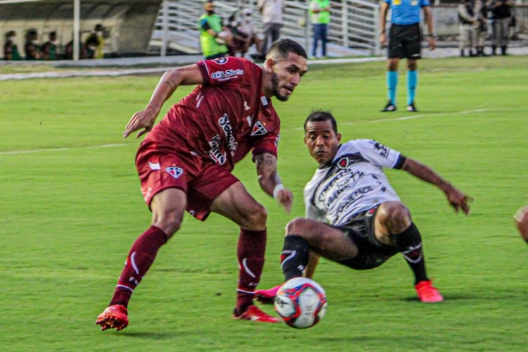 O Ferroviário empatou por 0 a 0 com o Botafogo-PB no estádio Amigão, em João Pessoa, pela estreia da Série C 2021 (Foto: Lenilson Santos/Ferroviário AC)