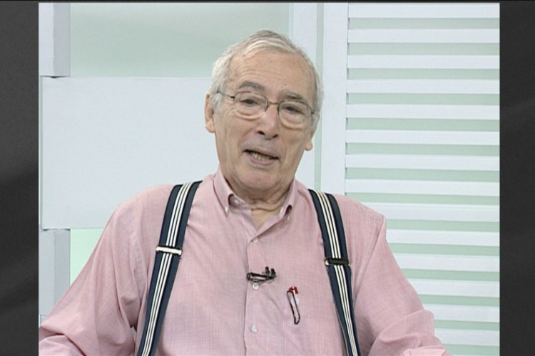 O jornalista Milton Coelho trabalhou em redações de jornais como O Globo e Última Hora (Foto: Reprodução)