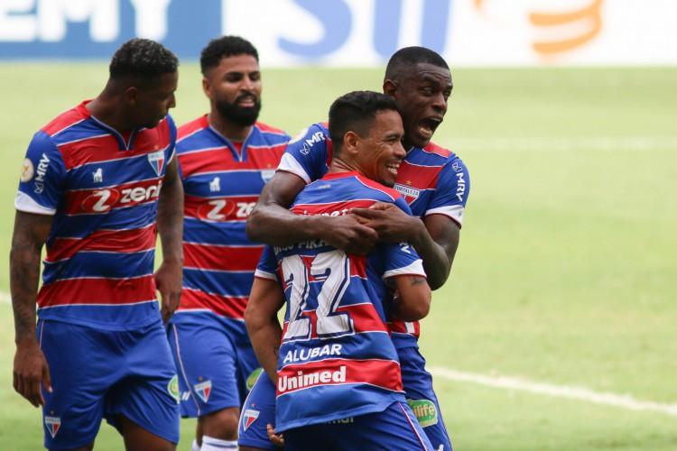 Com apenas 12 jogos, Fortaleza tem hoje apenas um ponto a menos que em 19 rodadas da Série A de 2020 (Foto: FERNANDO MORENO/AE)