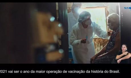 Campanha sobre vacinação do Ministério das Comunicações foi veiculada três meses após início da aplicação das vacinas
