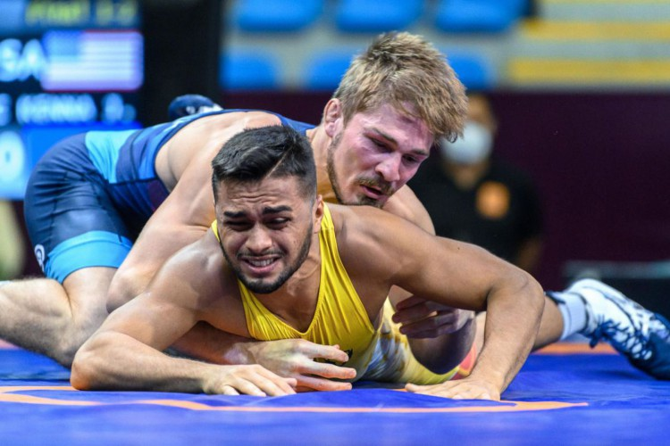 Wrestling: Brasil fecha Pan-Americano com 16 medalhas (Foto: )