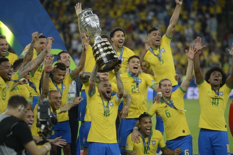 Brasil é campeão da Copa América (Foto: Fernando Frazão/Agência Brasil)