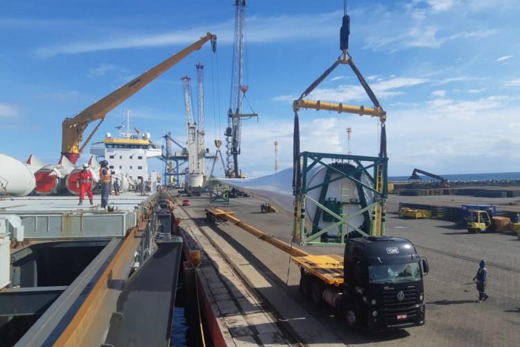 Aeris Energy concluiu a produção da nova maior pá eólica produzida no Hemisfério Sul. (Foto: Aeris Energy / Divulgação)