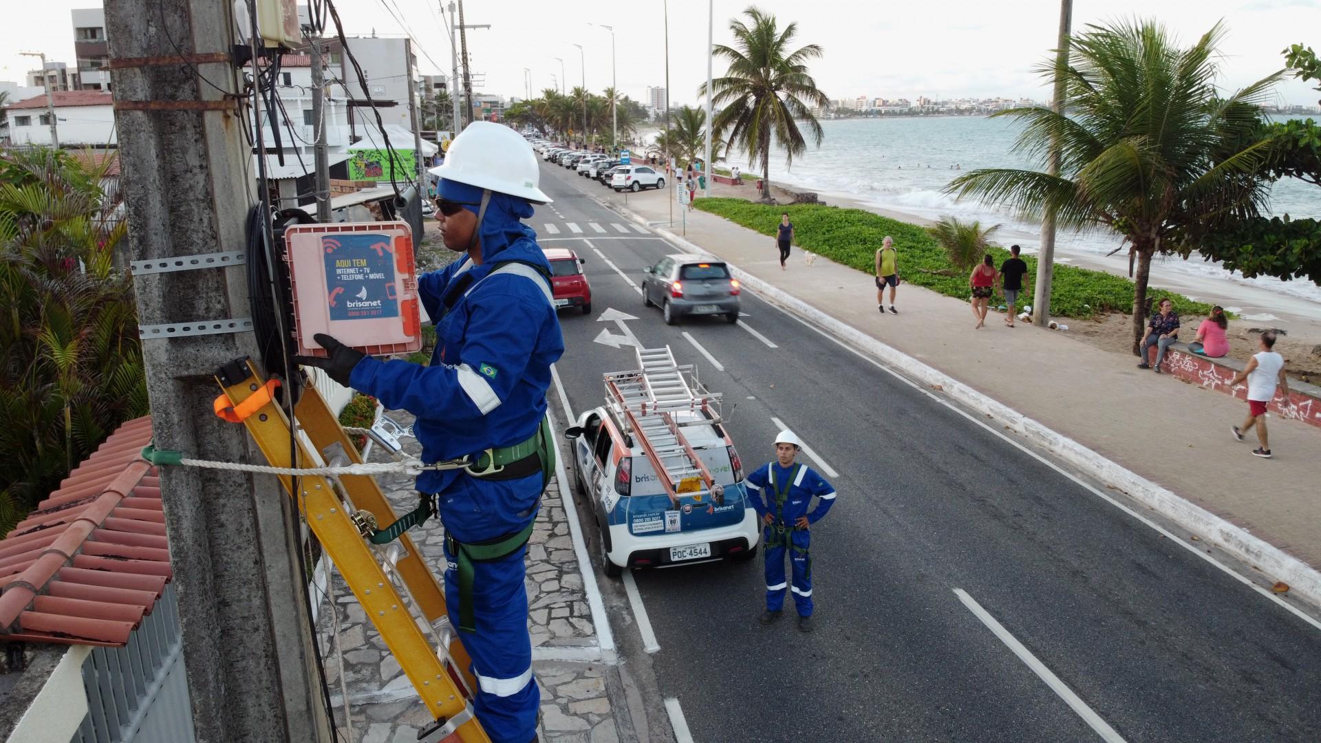 Vagas são para atuar onde a empresa presta serviço de telecomunicações no Nordeste (Foto: Arquivo Brisanet/Divulgação)
