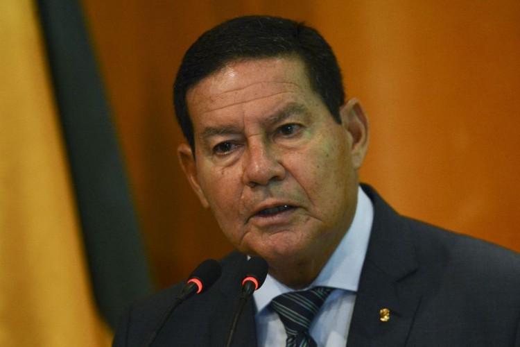 Vice-presidente da República, Hamilton Mourão (Foto: Marcelo Camargo/Agência Brasil)