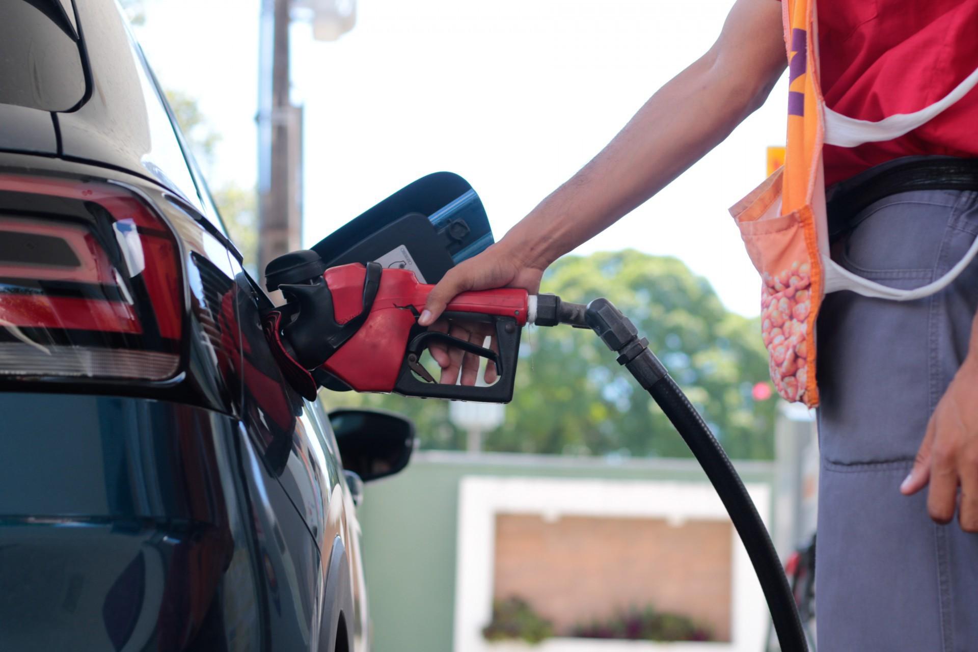 Etanol  o preço máximo na bomba no Ceará equivale a 94,6% da gasolina  (Foto: BARBARA MOIRA )