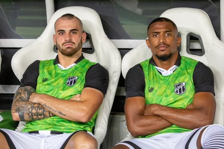 Vizeu e Saulo Mineiro vão reeditar parceria do Ceará no Yokohama FC (Foto: Felipe Santos/cearasc.com)