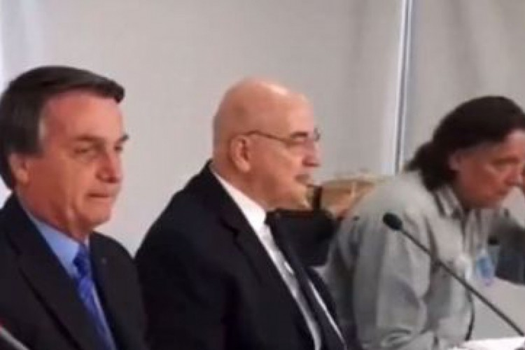 Bolsonaro, Osmar Terra e Paolo Zanotto: