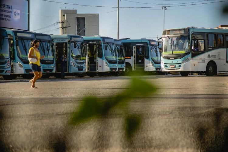 Período de greve foi anunciado pelo Sindicato dos Trabalhadores em Transportes Rodoviários no Estado do Ceará (Sintro) (Foto: Aurelio Alves)