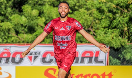 Gabriel Silva fez o gol da vitória do Ferroviário