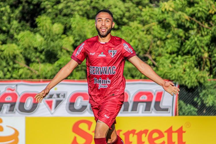 Gabriel Silva fez o gol da vitória do Ferroviário (Foto: Lenilson Santos / Ferroviário AC)