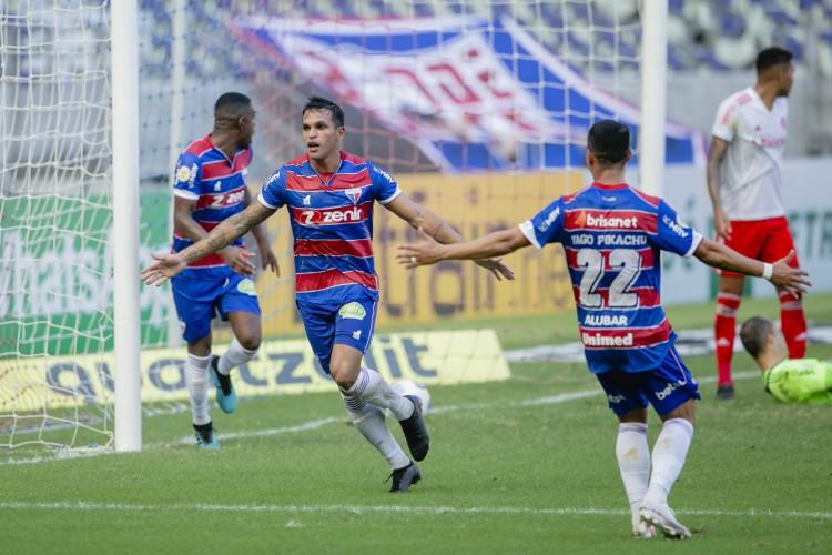 Atacante Robson, do Fortaleza (Foto: Aurelio Alves)
