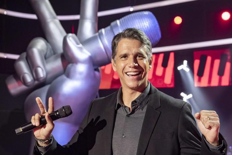 Márcio Garcia será um dos apresentadores da sexta edição do The Voice Kids que estreia neste domingo, 6, com uma série de novidades (Foto: Fábio Rocha / Divulgação Gshow)