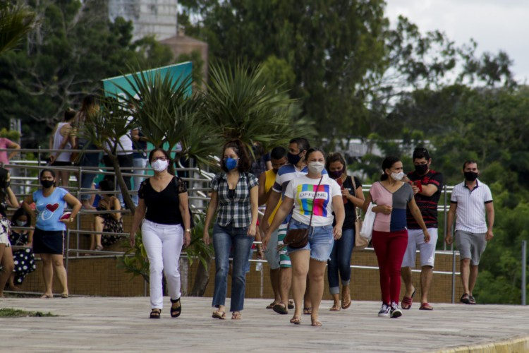 Em Fortaleza, o Centro de Eventos é um dos pontos de vacinação contra a Covid-19. A população em geral, de 18 a 59 ano, segue recebendo o imunizante em todos os 184 municípios cearenses (Foto: Thais Mesquita)