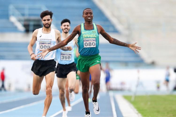 Thiago André conquista índice olímpico nos 800 metros (Foto: WAGNER CARMO/CBAt)