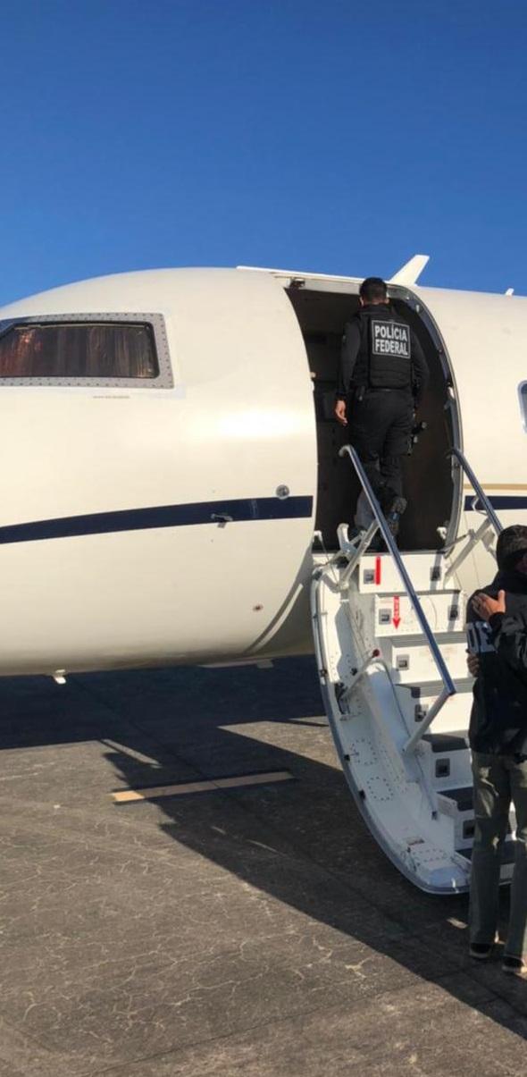 Narcotraficante preso em Fortaleza, no ano de 2019, é extraditado para os Estados Unidos