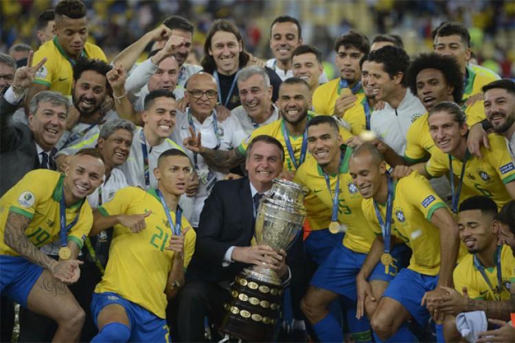 Bolsonaro será convidado para o jogo inaugural da Copa América 2021, que acontece no próximo domingo, dia 13 (Foto: Fernando Frazão (Agência Brasil))