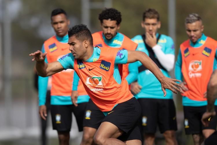Tite falou que vai rodar mais o elenco da Seleção Brasileira (Foto: Lucas Figueiredo/CBF)
