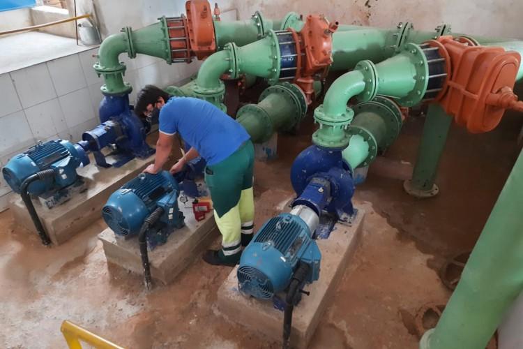 Equipamento integra o sistema de tratamento da Cagece e foi projetado e instalado com o objetivo de dar maior eficiência ao processo rotineiro de manutenção (Foto: Divulgação/Cagece)