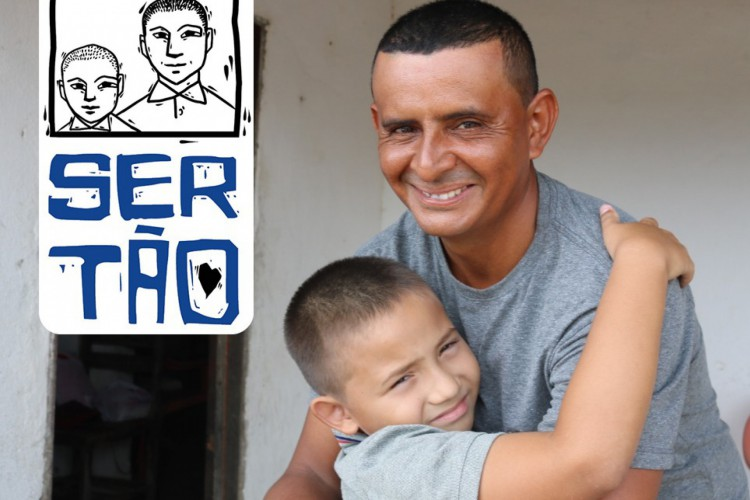 Angelo Ravel e o padrasto (Foto: Reprodução/ Defensoria Pública Geral do Estado do Ceará)
