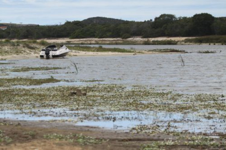 Vista geral da Lagoa do Catu.