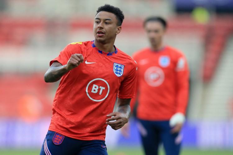 Lingard é um dos nomes convocados com frequência para a Seleção Inglesa  (Foto: Lindsey Parnaby / POOL / AFP)