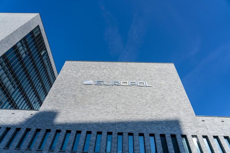 Edifícios da agência de polícia da UE Europol (Foto: Jerry Lampen / ANP / AFP)