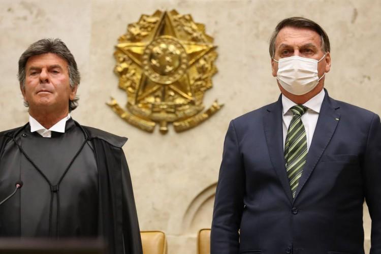 (Brasília - DF, 01/02/2021)Sessão Solene de Abertura do Ano Judicia (Foto: Marcos Corrêa/PR)