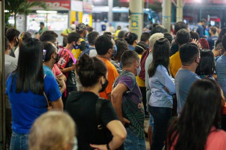 Nível de transmissão do vírus é preocupante na maioria dos estados, aponta boletim da Fiocruz (Foto: BARBARA MOIRA)