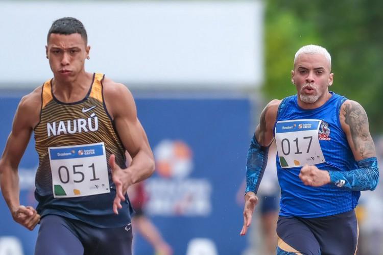 Atletismo: velocistas fazem índices no 1ª dia de seletiva paralímpica (Foto: MARCELLO ZAMBRANA)