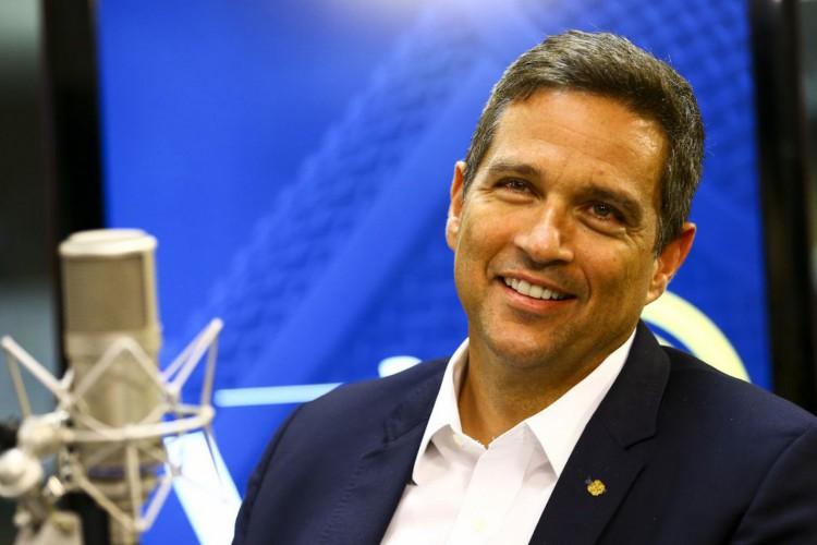 O Presidente do Banco Central, Roberto Campos Neto, participa do programa A Voz do Brasil. (Foto: Marcelo Camargo/Agência Brasil)