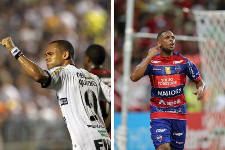 Washington e Anselmo foram decisivos vestindo a camisa do Ceará e do Fortaleza na Copa do Brasil (Foto: FABIO LIMA/O POVO; Igor de Melo/O POVO, em 11/05/2011)