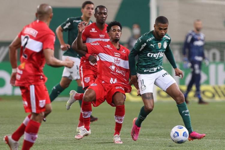 Palmeiras é eliminado da Copa do Brasil nos pênaltis para o CRB em SP (Foto: Cesar Greco)