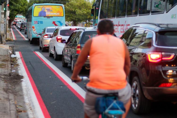Evento distribuirá de plaquinhas educativas para bicicletas e fará diálogos educativos sobre trânsito(foto: BARBARA MOIRA)