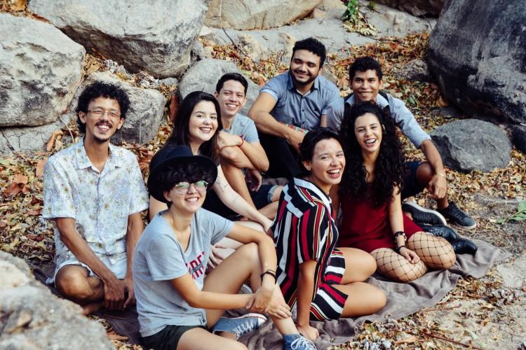 O grupo Desabrigados participa do álbum 'Som das Pedras' (Foto: Lucas Soares)