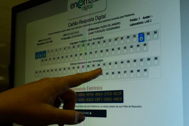 Enem digital (Foto: Marcello Casal Jr/Agência Brasil)