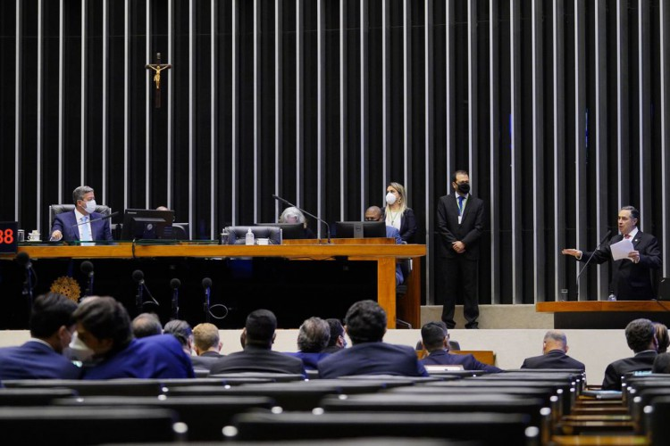 Câmara dos Deputados vota nesta segunda-feira MP que abre margem para privatização da Eletrobras. (Foto: Pablo Valadares/Câmara dos Deputados)
