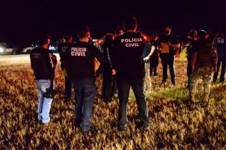 Policiais cumpriram mandados de prisão em quatro cidades da região Norte e na capital (Foto: Divulgação/Polícia Civil)