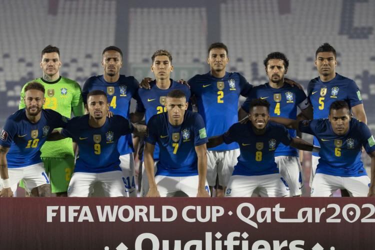 Em nota, jogadores da seleção criticam Copa América, mas negam boicote (Foto: Lucas Figueiredo/CBF)