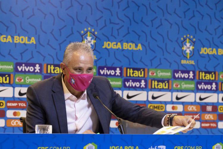 Técnico Tite convoca Seleção Brasileira para a Copa América (Foto: Divulgação/CBF)
