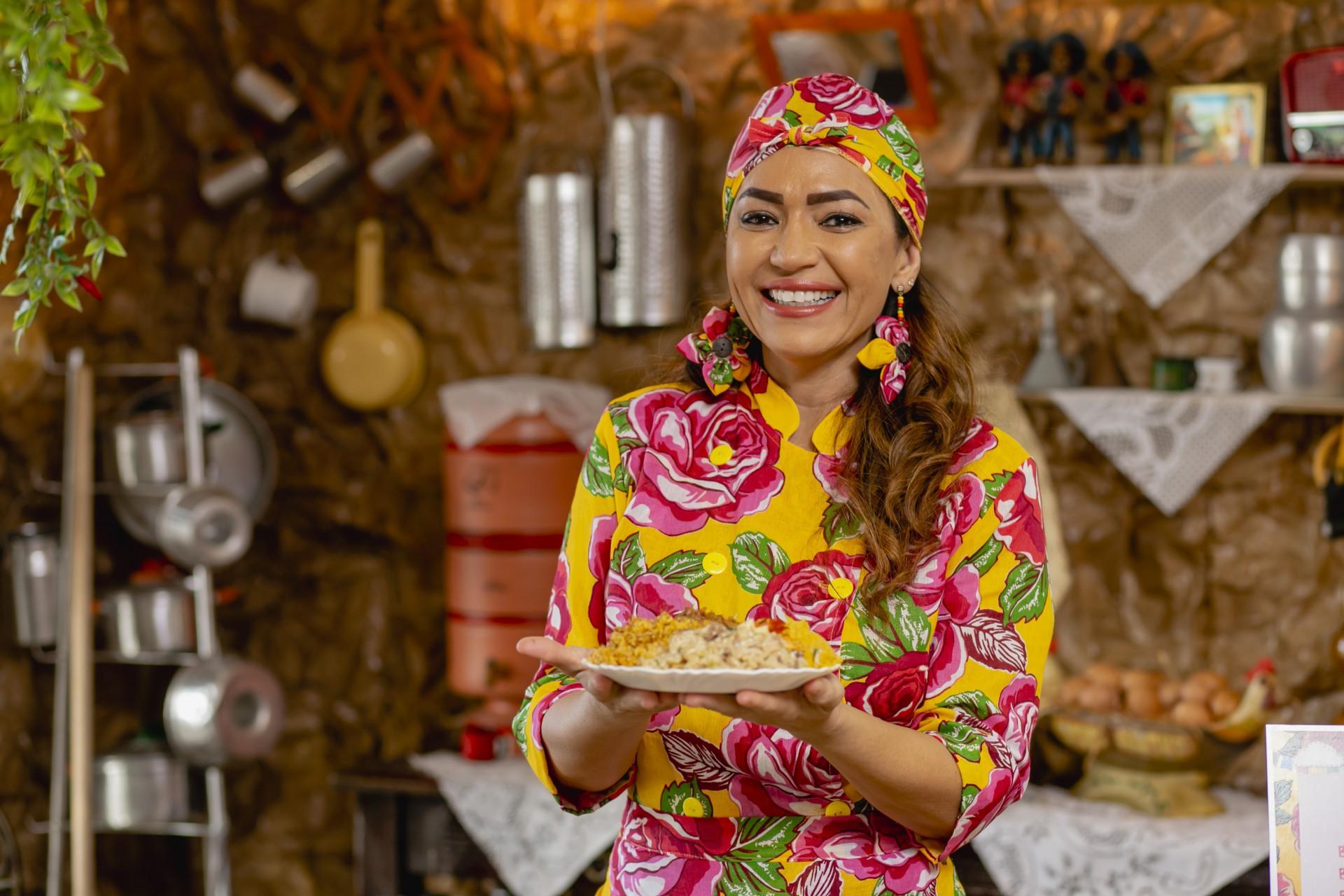 Silvia Helena, e os famosos pratinhos da Doce Gula